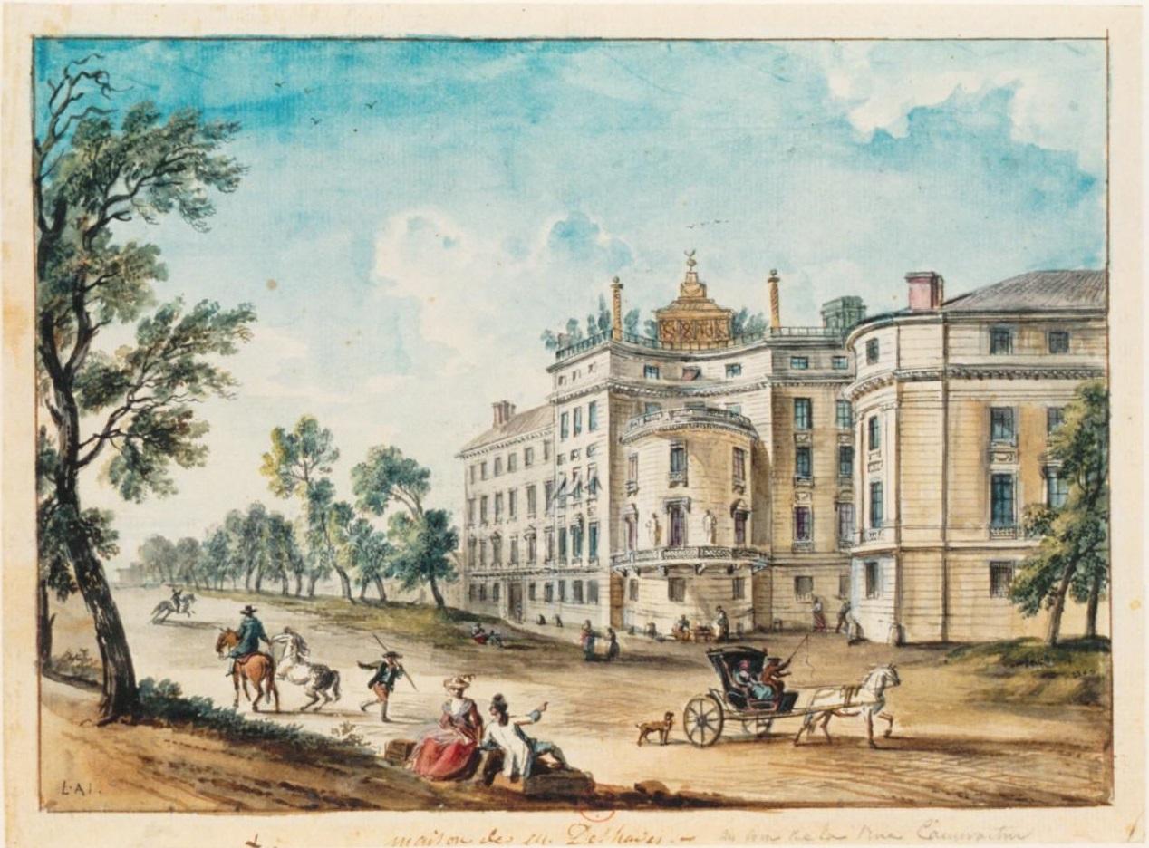 1781,Jean-Baptiste Lallemand,Hôtel Deshayes,1-3 rue de Caumartin,Paris,France