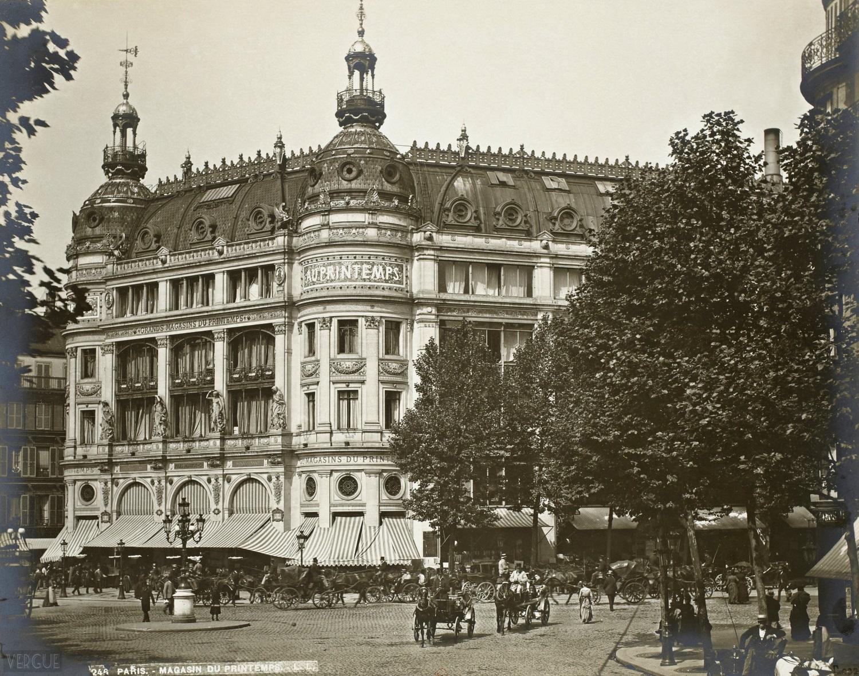1889,Léon et Levy,Magasin Le Printemps,70, boulevard Haussmann,Paris,France