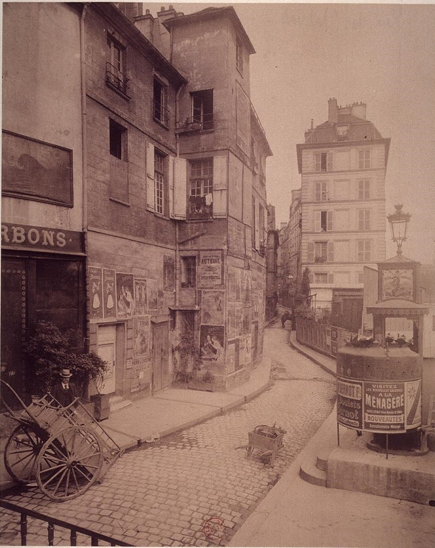 1900,Eugène Atget,rue des Ursins,rue des Ursins,Paris,France