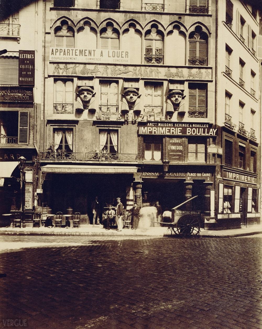 1903,Eugène Atget,place du Caire,place du Caire,Paris,France