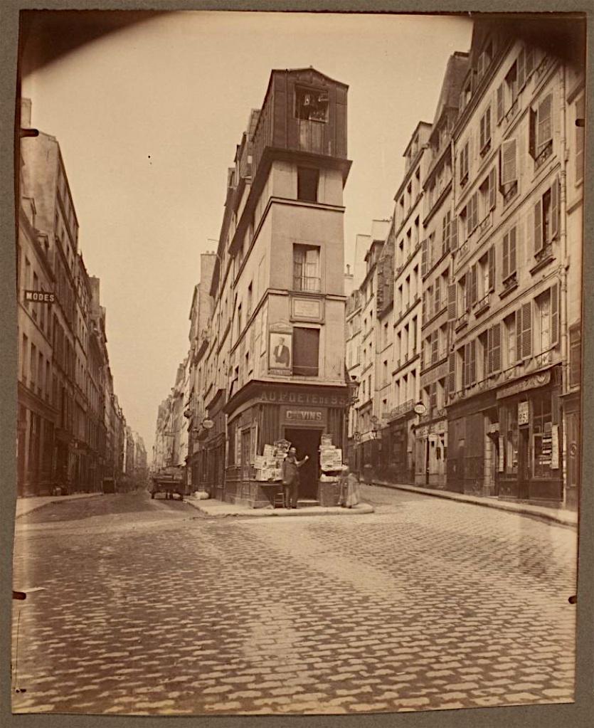 1907,Eugène Atget,rue de Cléry,rue de Cléry,Paris,France