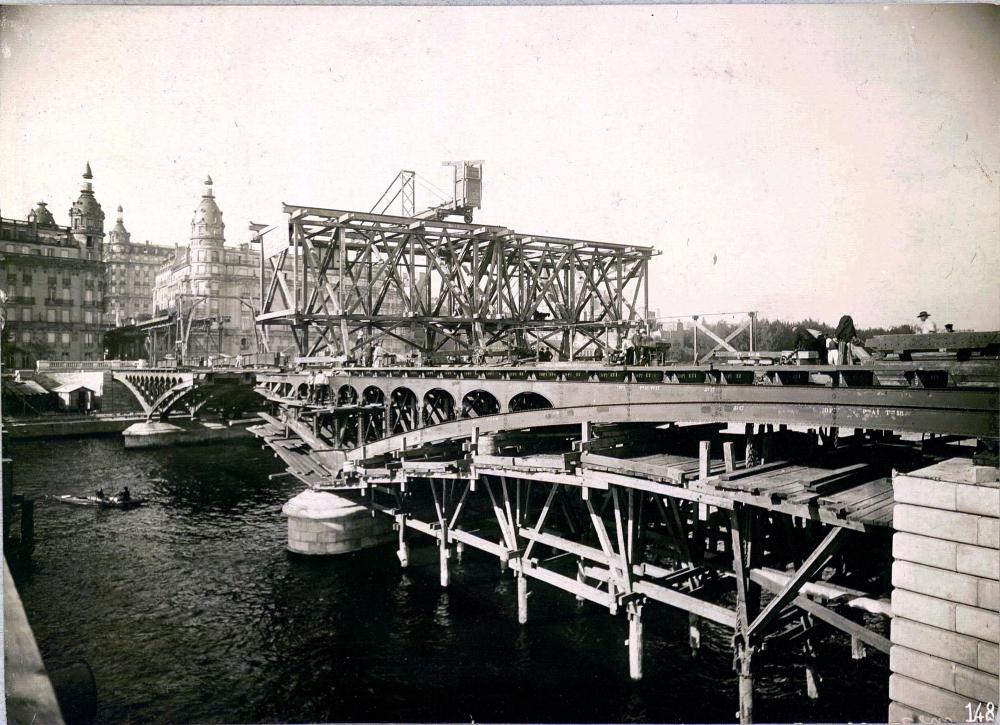 1904,UPF,Metro Parisien – Viaduc de Passy (2),,Paris,France