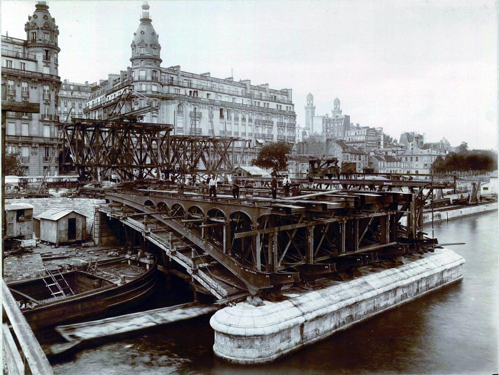 1904,UPF,Metro Parisien – Viaduc de Passy (1),,Paris,France