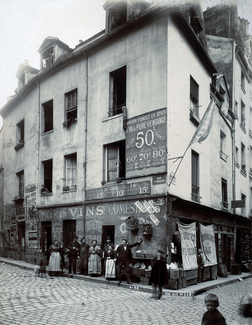 1898,UPF,rue Saint-Médard,21, rue Saint-Médard,Paris,France
