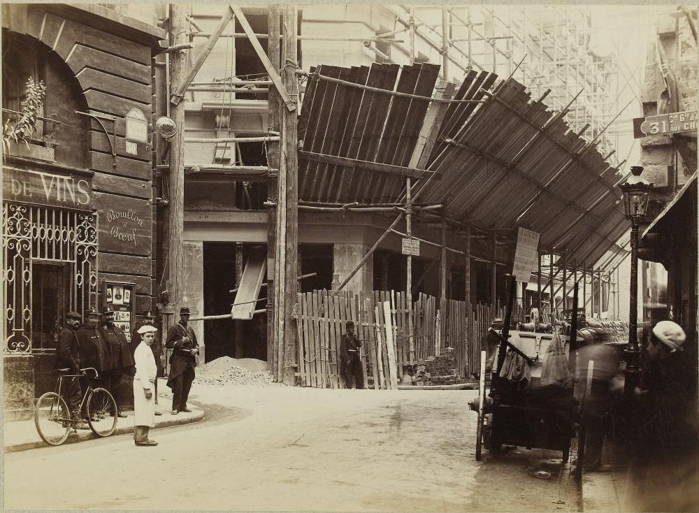 1898,Pierre Etmons,Grève des terrassiers – rue du Four,20, rue du Four,Paris,France