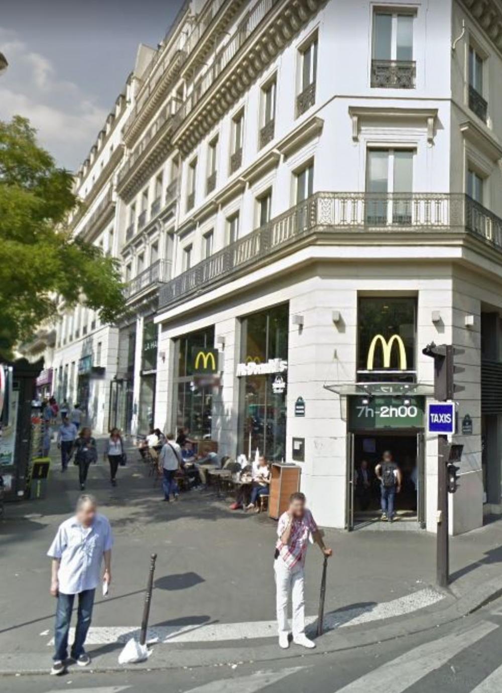 2020, ibidem.xyz ,Le glorieux Blériot XI,2, boulevard Poissonnière,Paris,France