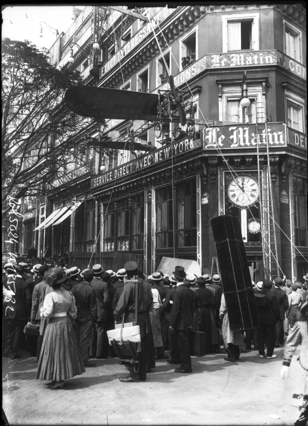 1909,Agence Rol,Le glorieux Blériot XI,2, boulevard Poissonnière,Paris,France