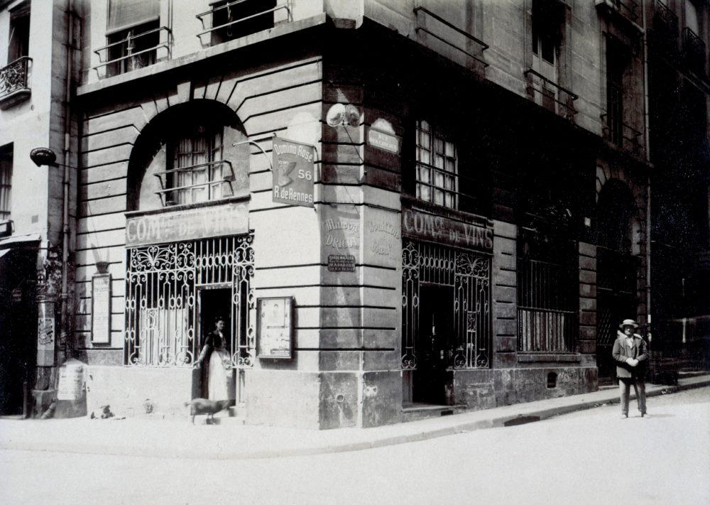 Eugène Atget, 1903, Cabaret rue du Four, Paris