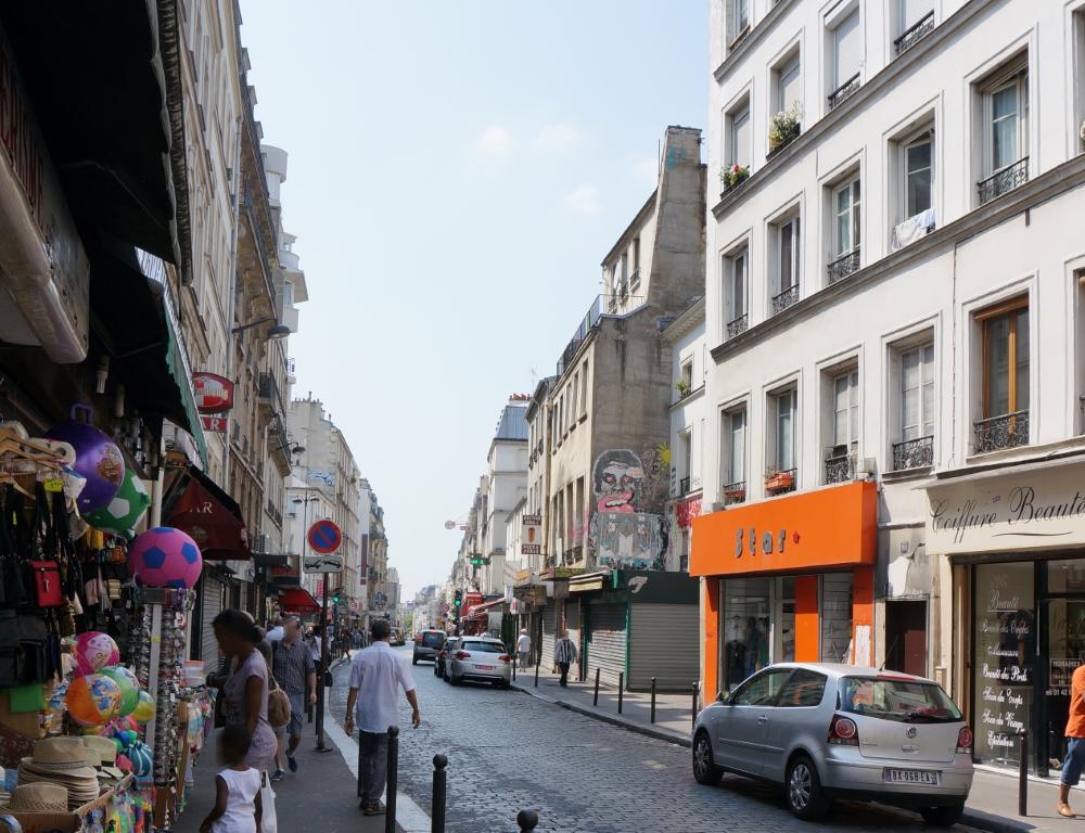 2015, ibidem.xyz ,Barricade de la rue Saint Maur – Popincourt,rue du Faubourg du Temple,Paris,France