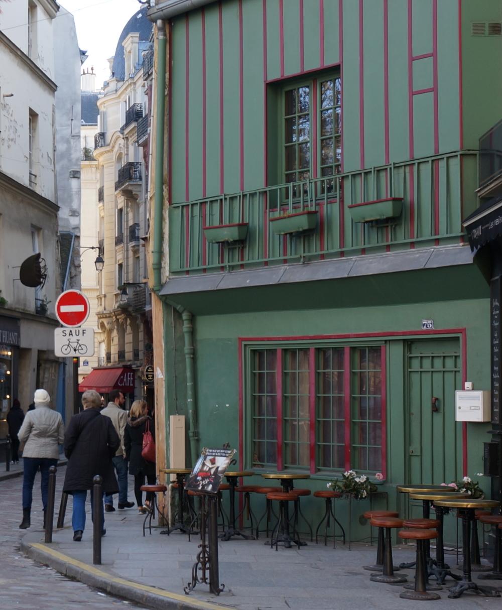 2018, ibidem.xyz ,Coin rue Galande,75, rue Galande,Paris,France
