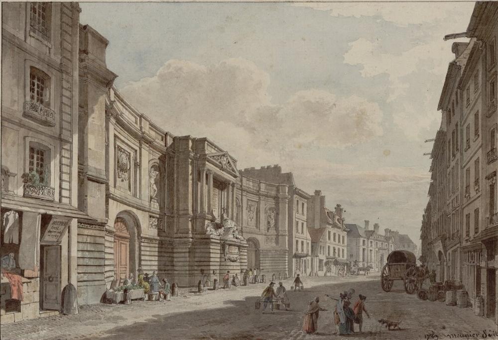 1789,Antoine Meunier,La Fontaine des Quatre-Saisons,57-59, rue de Grenelle,Paris,France