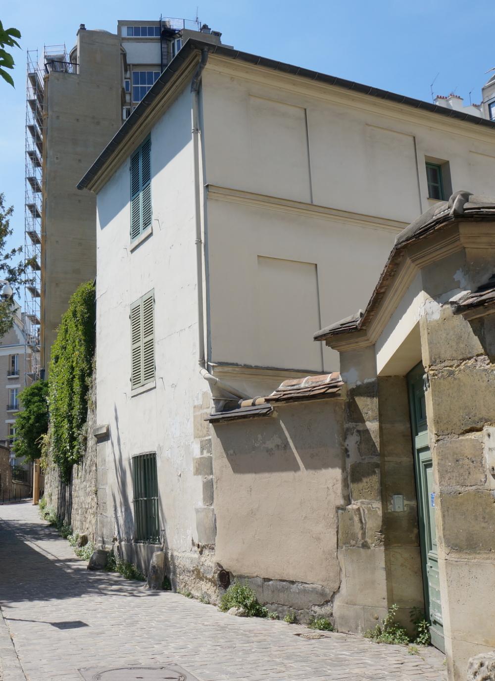 2020, ibidem.xyz ,Maison de Balzac – rue Berton,24, rue Berton,Paris,France