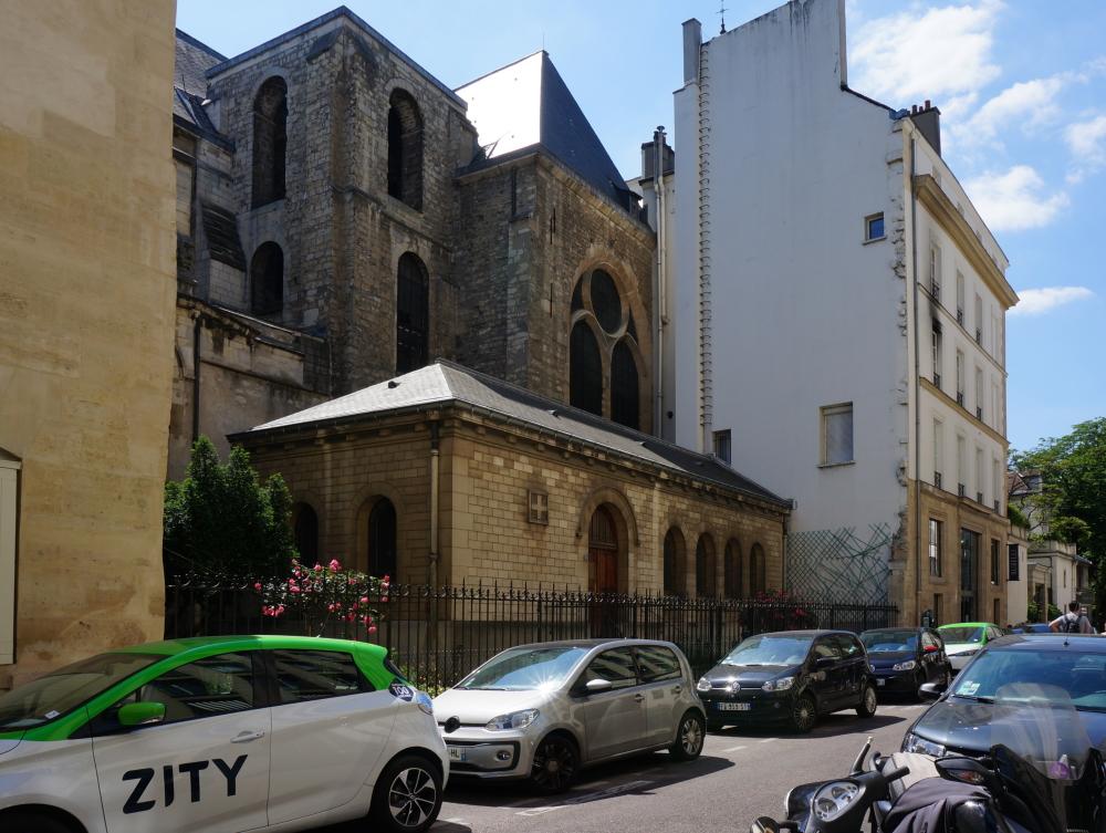 2020, ibidem.xyz ,rue de l'Abbaye – l'afficheur,9, rue de l'Abbaye,Paris,France