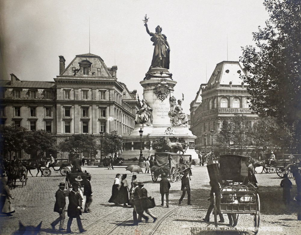 1889,Léon et Levy,place de la République,Place de la République,Paris,France