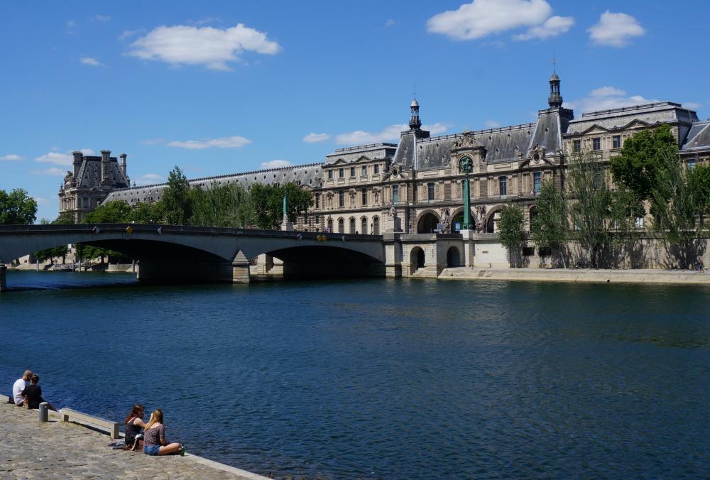 2020, ibidem.xyz ,Le Louvre – Aménagement de la galerie du bord de l'eau,12, quai François Mitterand,Paris,France