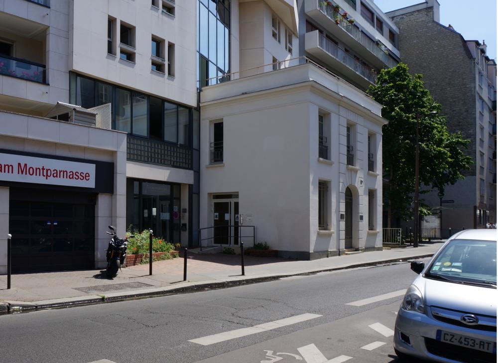 2020, ibidem.xyz ,rue Falguière – Fondation Pierre Budin,91, rue Falguière,Paris,France