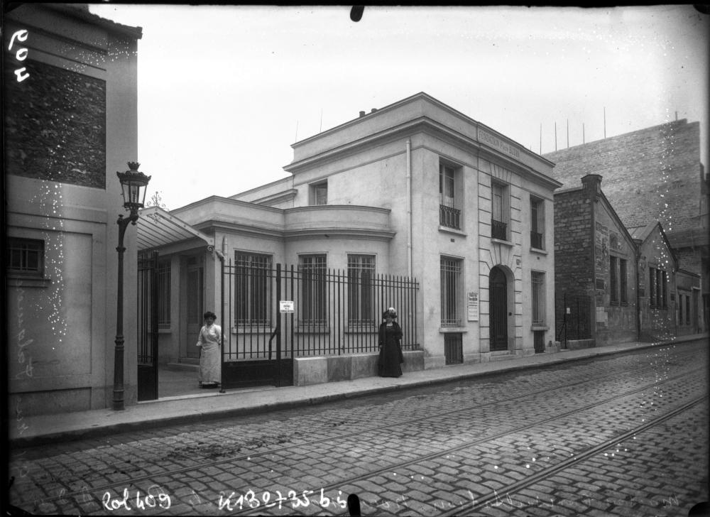 1908,Agence Rol,rue Falguière – Fondation Pierre Budin,91, rue Falguière,Paris,France