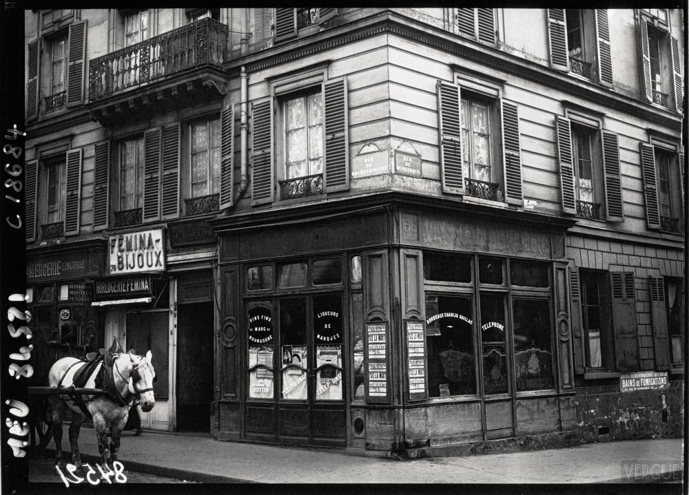 1920,Agence Meurisse,La maison de Landru,75 rue de Rochechouart,Paris,France