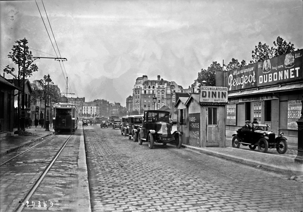 1927,Agence Rol,Barrière de l'octroi porte d'Orléans,6, avenue de la porte d'Orléans,Paris,France