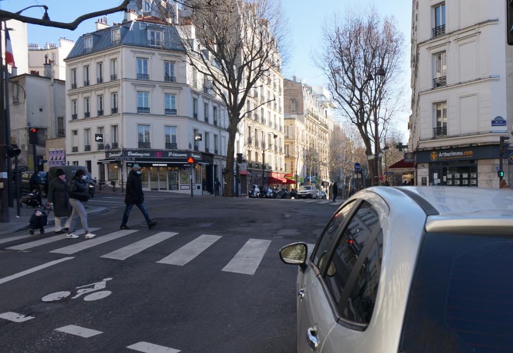2021, ibidem.xyz ,Barricade du boulevard Puebla,268, rue des Pyrénées,Paris,France