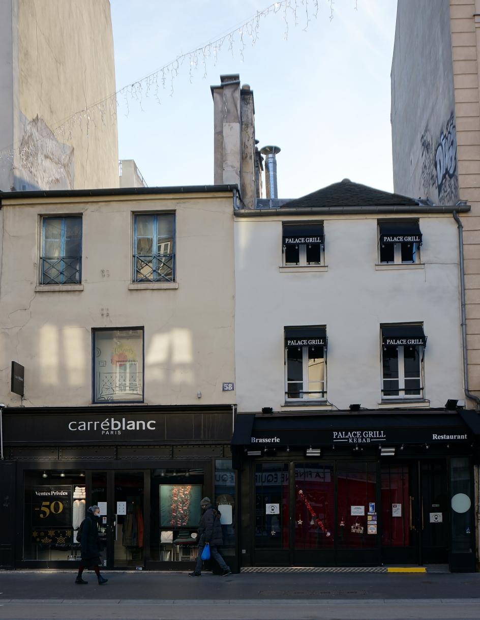 2021, ibidem.xyz ,Vieilles maisons, rue du Faubourg Saint-Antoine,56, rue du Faubourg Saint-Antoine,Paris,France
