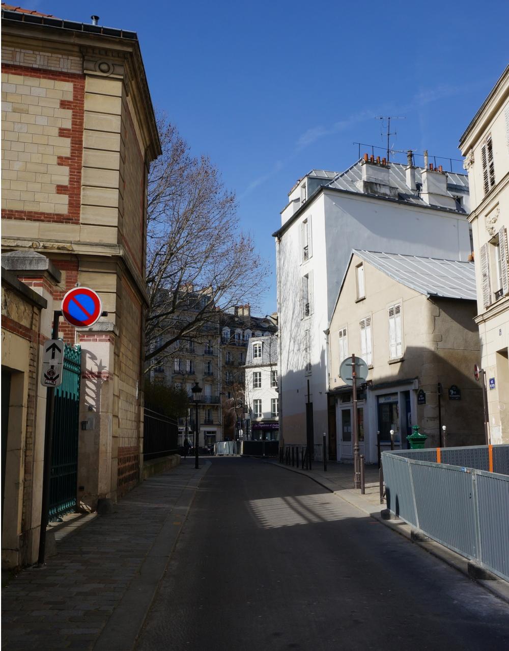 2021, ibidem.xyz ,La rue du Buis, au fond la rue d'Auteuil,8, rue du Buis,Paris,France